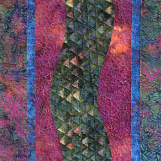 Abstract & Almost Traditional Quilts