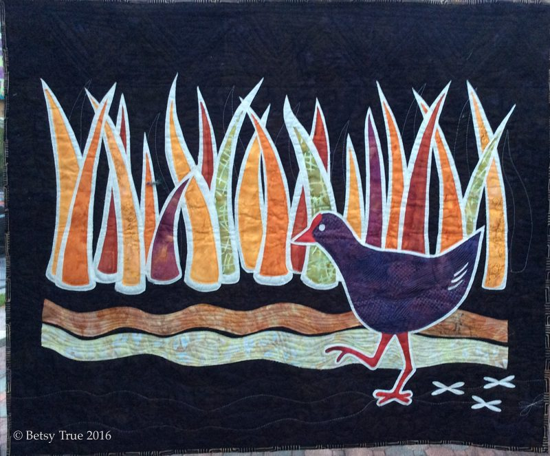 Swamphen, African, bird, marsh, woodblock,
