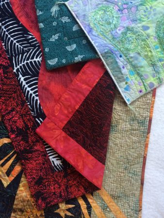 quilt bindings taught in course
