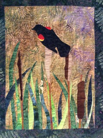 bird quilt by Betsy True