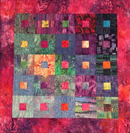 Art quilt by Betsy True